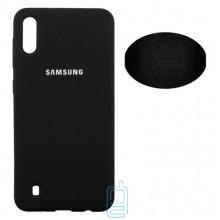 Чехол Silicone Cover Full Samsung M10 2019 M105 черный