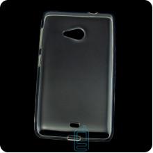 Чехол силиконовый Premium Nokia Lumia 535 прозрачный