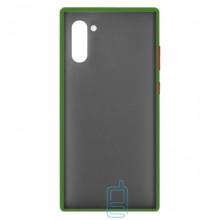 Чехол Goospery Case Samsung Note 10 N970 зеленый