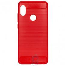 Чехол силиконовый Polished Carbon Xiaomi Redmi S2, Y2 красный