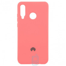 Чехол Silicone Case Full Huawei P30 Lite розовый