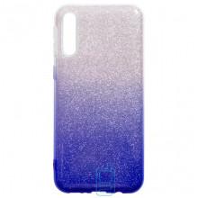 Чехол силиконовый Shine Samsung A50 2019 A505 градиент синий