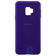 Чехол Silicone Case Full Samsung J2 Core 2018 J260 фиолетовый