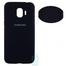 Чехол Silicone Cover Full Samsung J2 2018 J250, J2 Pro 2018 черный
