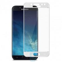 Защитное стекло 5D Samsung J5 2017 J530 white тех.пакет