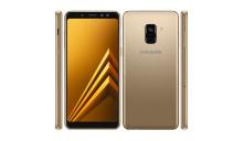Чехол на  Samsung A8 2018 A530F + Защитное стекло