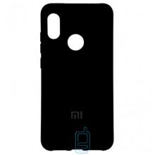 Чехол Silicone Case Full Xiaomi Mi 8 черный