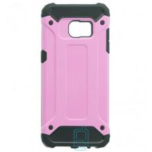 Чехол-накладка Motomo X5 Samsung S7 Edge G935 розовый