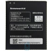 Аккумулятор Lenovo BL198 2250 mAh для A678t, A850, S860, S890 AAAA/Original тех.пакет