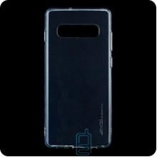 Чехол силиконовый SMTT Samsung S10 Plus G975 прозрачный