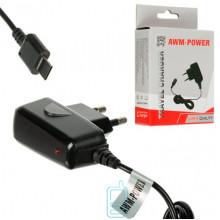 Сетевое зарядное устройство AWM Power 0.8A Samsung D800 black
