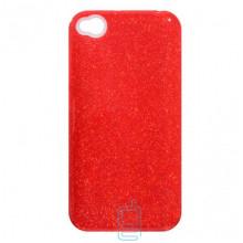 Чехол силиконовый Shine Xiaomi Redmi GO красный