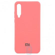 Чехол Silicone Case Full Xiaomi Mi 9 розовый