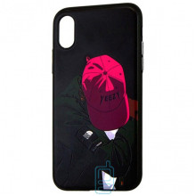 Чехол Creative TPU+PC Apple iPhone X, XS Boy in cap