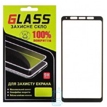 Защитное стекло Full Glue Samsung A9 2018 A920 black Glass