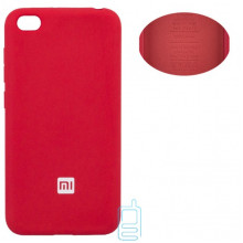 Чехол Silicone Cover Full Xiaomi Redmi GO красный
