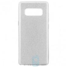 Чехол силиконовый Shine Samsung Note 8 N950 серебристый