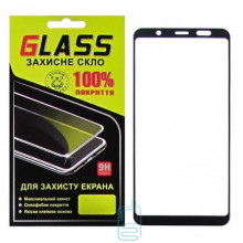 Защитное стекло Full Glue Samsung A6 Plus 2018 A605 black Glass