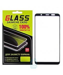 Защитное стекло Full Glue Samsung A6 Plus 2018 A605 black Glass