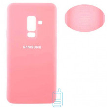 Чехол Silicone Cover Full Samsung A6 Plus 2018 A605 розовый