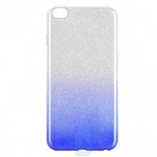 Чехол силиконовый Shine Xiaomi Redmi GO градиент синий