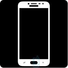 Защитное стекло Full Screen Samsung J2 2018 J250, J2 Pro 2018 white тех.пакет