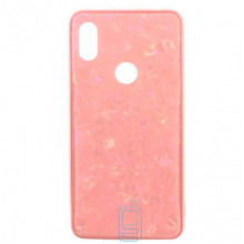 Чехол накладка Glass Case Мрамор Xiaomi Redmi 6Pro, A2 Lite розовый