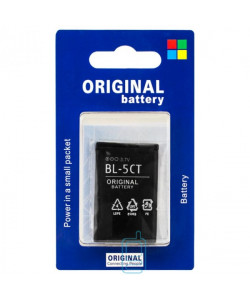 Аккумулятор Nokia BL-5CT 1050 mAh 3720, 5220, 5630 AA/High Copy блистер