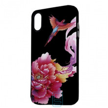 Чехол Creative TPU+PC Apple iPhone X, XS Flower