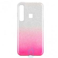Чехол силиконовый Shine Samsung A9 2018 A920 градиент розовый