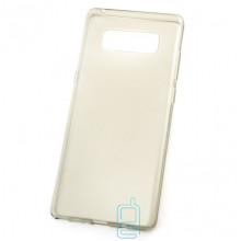 Чехол силиконовый Premium Samsung Note 8 N950 затемненный