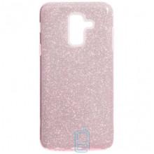 Чехол силиконовый Shine Samsung A6 Plus 2018 A605 розовый