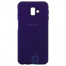 Чехол Silicone Case Full Samsung J6 Plus 2018 J610 фиолетовый