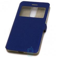 Чехол-книжка Modern 1 окно Lenovo K5 Note, K5 Note Pro синий