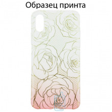 Чехол Apple iPhone XR roses
