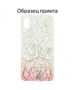 Чехол Apple iPhone 11 Pro roses
