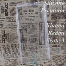 Чехол силиконовый Premium Xiaomi Redmi Note 3, Note 3 Pro прозрачный