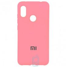 Чехол Silicone Case Full Xiaomi Redmi 6 Pro, Mi A2 Lite розовый