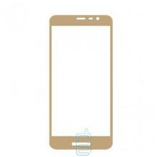 Защитное стекло Full Screen Samsung J2 Core J260 gold тех. пакет