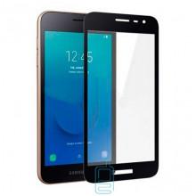 Защитное стекло Full Glue Samsung J2 Core J260 black тех.пакет