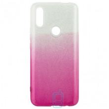 Чехол силиконовый Shine Huawei P Smart Z, Y9 Prime 2019 градиент розовый