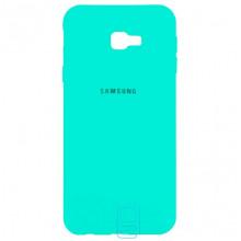 Чехол Silicone Case Full Samsung J4 Plus 2018 J415 бирюзовый
