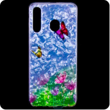 Cиликон Garden Samsung M30 2019 M305 бабочки