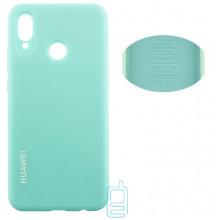 Чехол Silicone Cover Full Huawei P20 Lite, Nova 3e бирюзовый