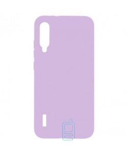 Чехол Silicone Cover Full Xiaomi Mi A3, Mi CC9E сиреневый