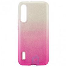 Чехол силиконовый Shine Xiaomi Mi CC9E, Mi A3 градиент розовый