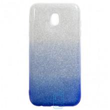 Чехол силиконовый Shine Samsung J3 2017 J330 градиент синий