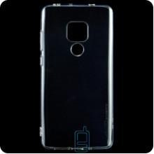 Чехол силиконовый SMTT Huawei Mate 20 прозрачный