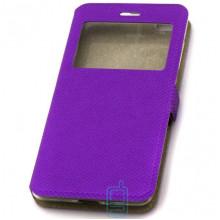 Чехол-книжка Modern 1 окно Xiaomi Redmi 3 фиолетовый