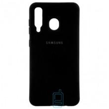 Чехол Silicone Case Full Samsung M30 2019 M305 черный